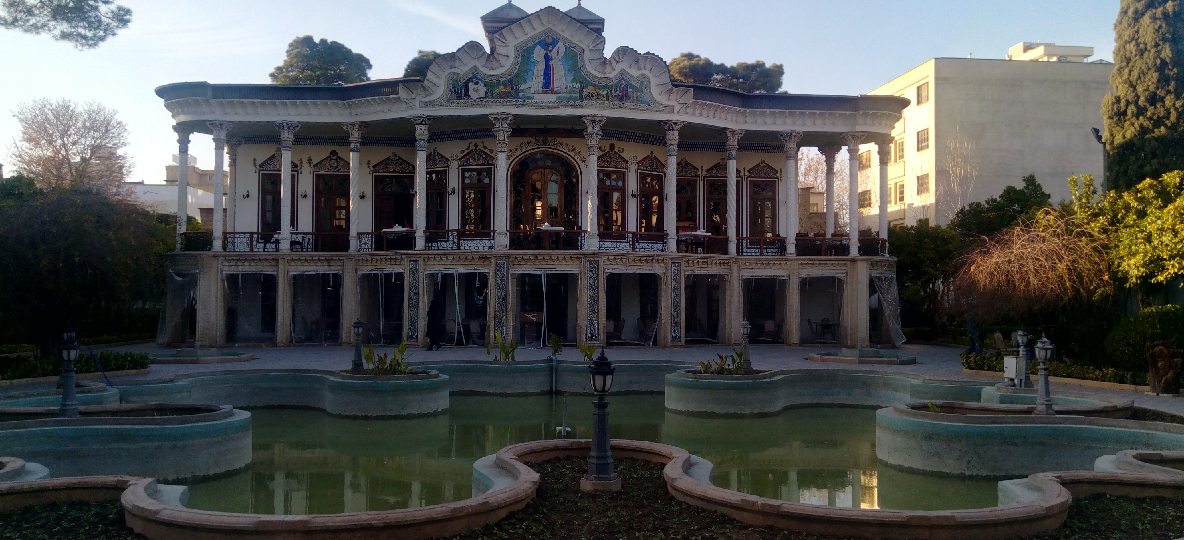 Shapouri Mansion of shiraz