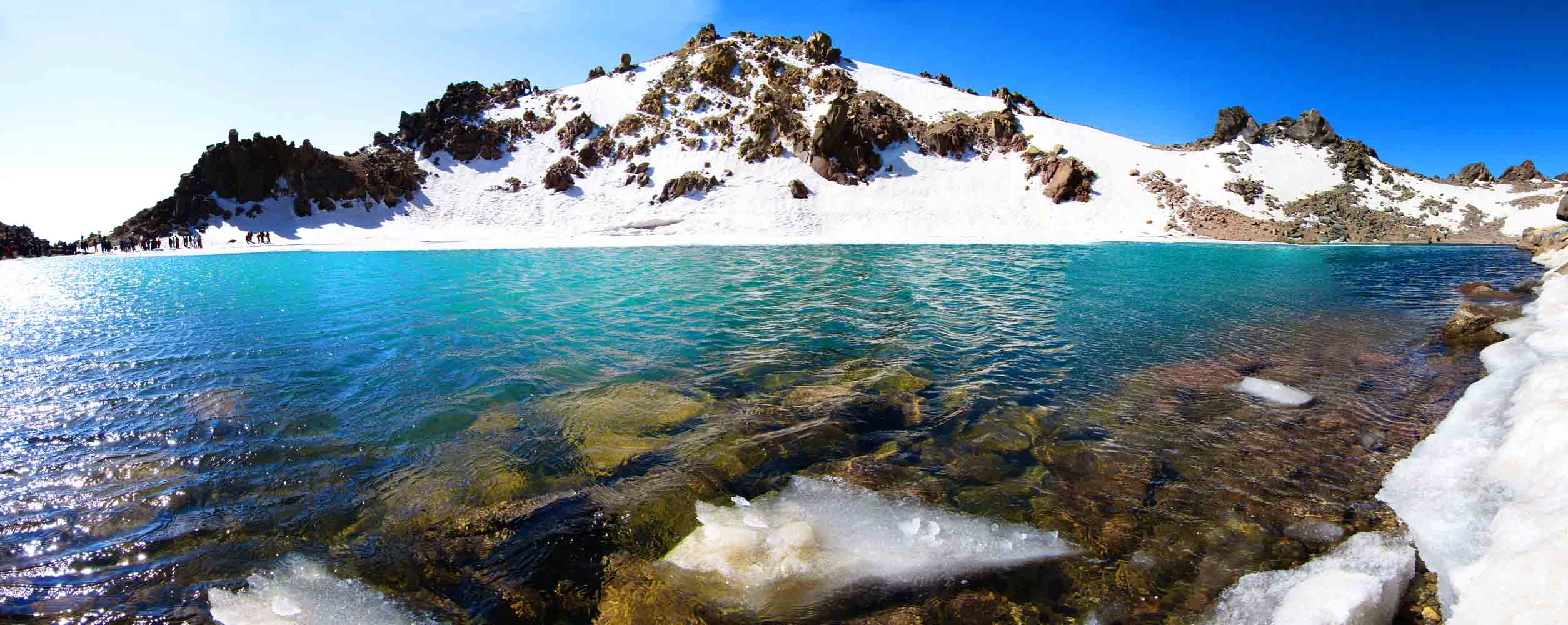 Mt Sabalan lake,